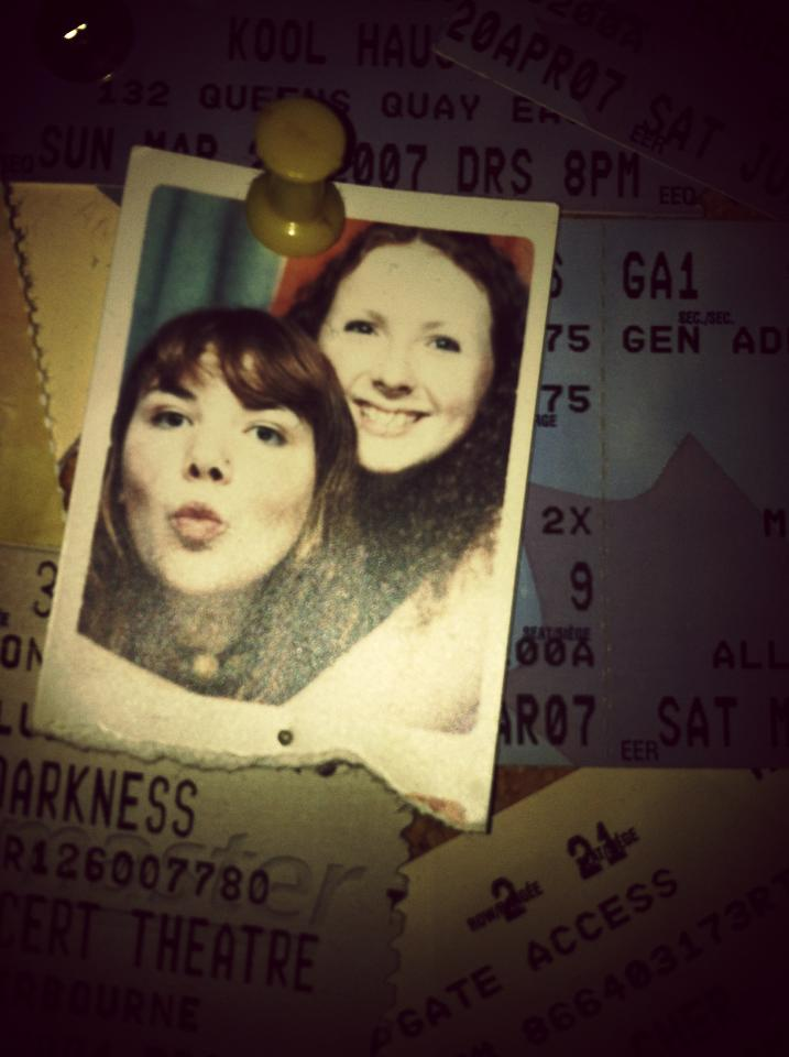 jill and me at 15